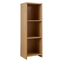 Buy House by John Lewis Oxford 3 x 1 Shelf Unit, Oak Online at johnlewis.com