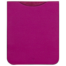Buy Mulberry iPad 2 Sleeve, Fuchsia Pink Online at johnlewis.com