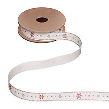 Buy East of India Snowflake Ribbon, Multi Online at johnlewis.com
