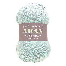 Buy Sirdar Hayfield Bonus Aran Tweed Yarn, 400g Online at johnlewis.com