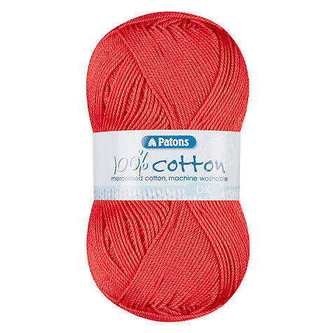 Buy Patons Cotton 4 Ply Yarn, 100g Online at johnlewis.com
