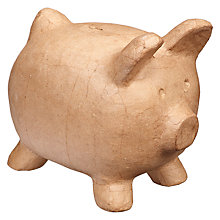 Buy Decopatch MA109 Piggy Bank Model, Medium Online at johnlewis.com