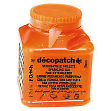 Buy Decopatch Glitter Glue/Varnish, 150g Online at johnlewis.com