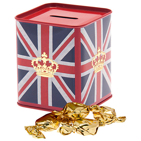 Buy House Of Dorchester Toffees in a Money Box Tin, 100g Online at johnlewis.com