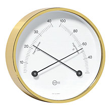Buy Barigo Thermo Hygrometer, Brass Online at johnlewis.com