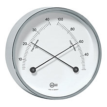 Buy Barigo Thermo Hygrometer, Silver Online at johnlewis.com