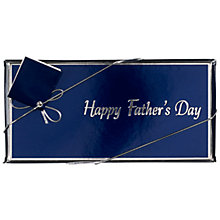 Buy Ambassadors of London Happy Father's Day Chocolate Bar, 100g Online at johnlewis.com