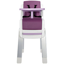 Buy Nuna Zaaz Highchair, Plum Online at johnlewis.com