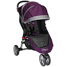 Buy Baby Jogger City Mini 3 Wheeler, Purple Online at johnlewis.com