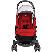 Buy Nuna Pepp Pushchair, Scarlet Online at johnlewis.com