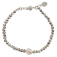 Buy Claudia Bradby Light Pyrite Bracelet Online at johnlewis.com