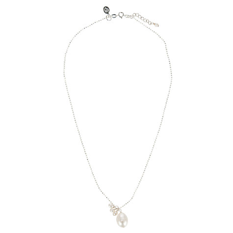 Buy Claudia Bradby Pearl Pendant Sparkle Necklace Online at johnlewis.com