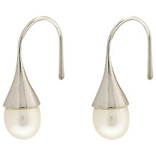 Buy Lido Silver Cased Teardrop Pearl Drop Earrings Online at johnlewis.com