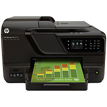 Buy HP Officejet Pro 8600A Wireless e-All-in-One Printer & Fax Machine with Airprint + Adobe Photoshop Elements 12, Photo Editing Software Online at johnlewis.com