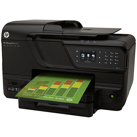 Buy HP Officejet Pro 8600A Wireless e-All-in-One Printer & Fax Machine Online at johnlewis.com