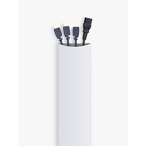 Buy AVF JZA200 Cable Management, White Online at johnlewis.com