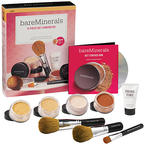 Buy bareMinerals Get Started Kit - Light Online at johnlewis.com