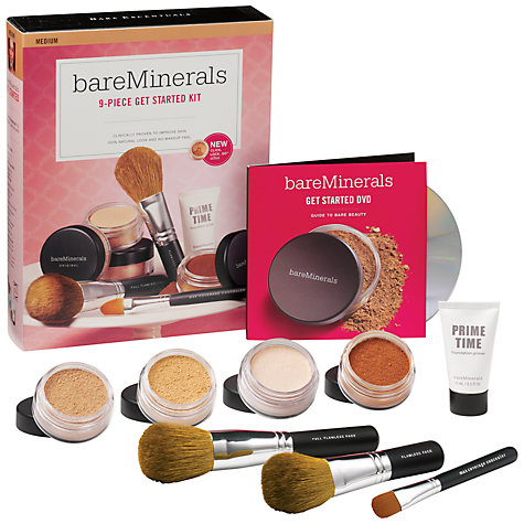 Buy bareMinerals Get Started Kit - Medium Online at johnlewis.com
