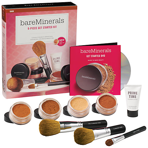 Buy bareMinerals Get Started Kit - Dark Online at johnlewis.com