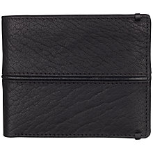 Buy Smith & Canova Wallet, Black Online at johnlewis.com