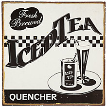 Buy John Lewis Iced Tea Plaque, 30.5 x 30.5cm Online at johnlewis.com