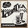 John Lewis Iced Tea Plaque, 30.5 x 30.5cm