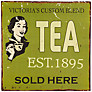 John Lewis Tea Plaque, 30.5 x 30.5cm