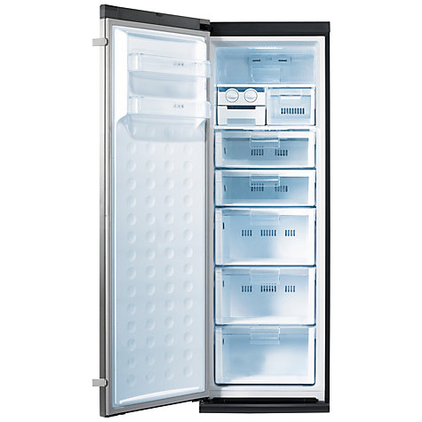 Buy Samsung RZ80FDRS Tall Freezer, A+ Energy Rating, 60cm Wide, Stainless Steel Online at johnlewis.com