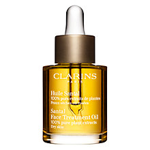 Buy Clarins Face Treatment Oil - Santal, 30ml Online at johnlewis.com