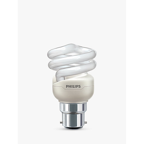Buy Philips 8W BC Energy Saver Bulb, Opal Online at johnlewis.com