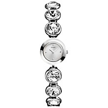 Buy Guess W85101l1 Women's Spotlight Bracelet Watch, Silver Online at johnlewis.com