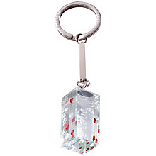 Buy Spaceform Lots Of Love Cuboid Keyring Online at johnlewis.com