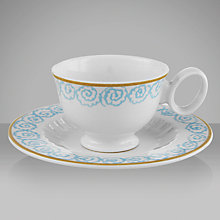 Buy Designers Guild Watelet Espresso Cup and Saucer, 90ml Online at johnlewis.com