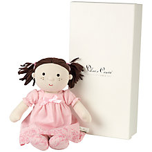 Buy Silver Cross Rosie Rag Doll Online at johnlewis.com