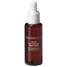 Buy bareMinerals Active Cell Renewal Night Serum, 30ml Online at johnlewis.com