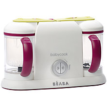 Buy Beaba Babycook Duo 4-in-1 Babyfood Maker, Steamer and Blender Online at johnlewis.com