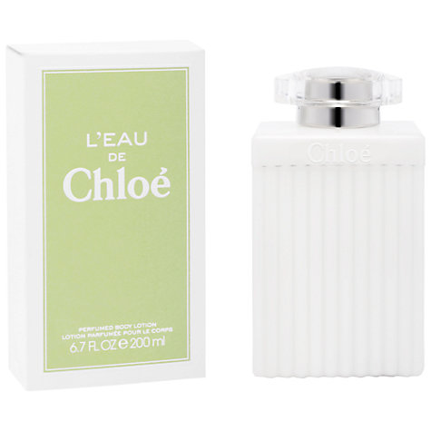Buy L'Eau De Chloé Body Lotion, 200ml Online at johnlewis.com
