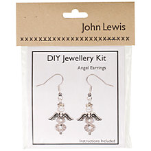 Buy John Lewis DIY Angel Earrings Jewellery Kit Online at johnlewis.com