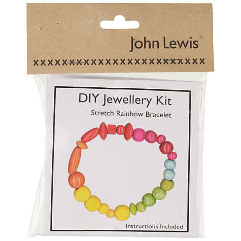 Buy John Lewis DIY Stretch Rainbow Bracelet Jewellery Kit Online at johnlewis.com