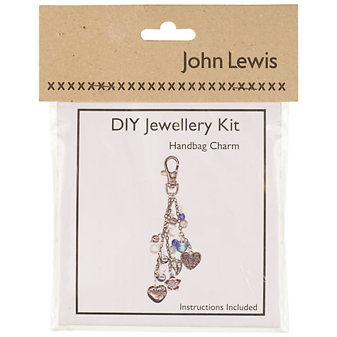 Buy John Lewis DIY Handbag Charm Jewellery Kit Online at johnlewis.com