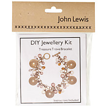 Buy John Lewis DIY Treasure Trove Bracelet Jewellery Kit Online at johnlewis.com