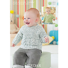Buy Sirdar Snuggly Baby Speckle DK Leaflet, 1355 Online at johnlewis.com