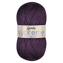 Buy Wendy Supreme Chunky Cotton Yarn, 50g Online at johnlewis.com