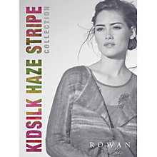 Buy Rowan Kidsilk Haze Stripe Collection Knitting Patterns Brochure Online at johnlewis.com