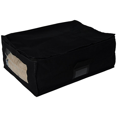 Buy John Lewis Blanket Bag, Black Online at johnlewis.com