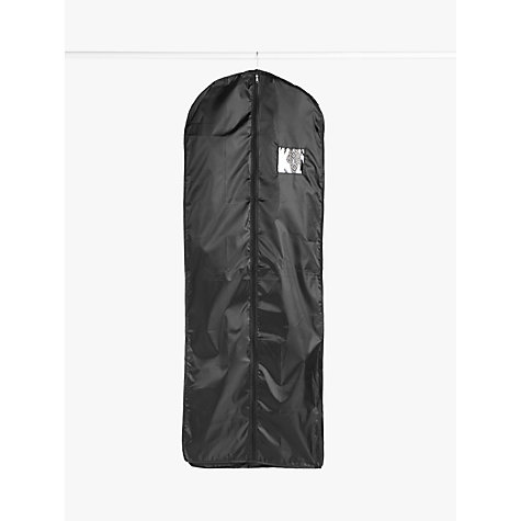 Buy John Lewis Extra Long Clothes Cover, Black Online at johnlewis.com