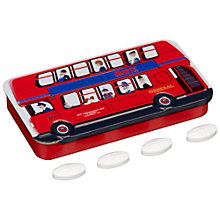 Buy London Bus Mint Tin, 50g Online at johnlewis.com