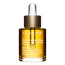 Buy Clarins Face Treatment Oil - Blue Orchid, 30ml Online at johnlewis.com