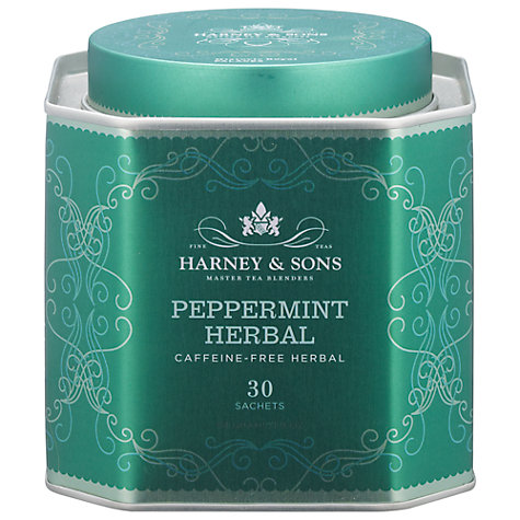 Buy Harney & Sons Historic Royal Palaces Herbal Peppermint Tea, 30 Sachets, 54g Online at johnlewis.com