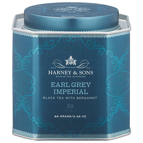 Buy Harney & Sons Historic Royal Palaces Earl Grey Imperial Tea, 30 Sachets, 66g Online at johnlewis.com
